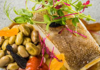 Barcelona Macau_Codfish with Dried Fruits & Honey Sauce
