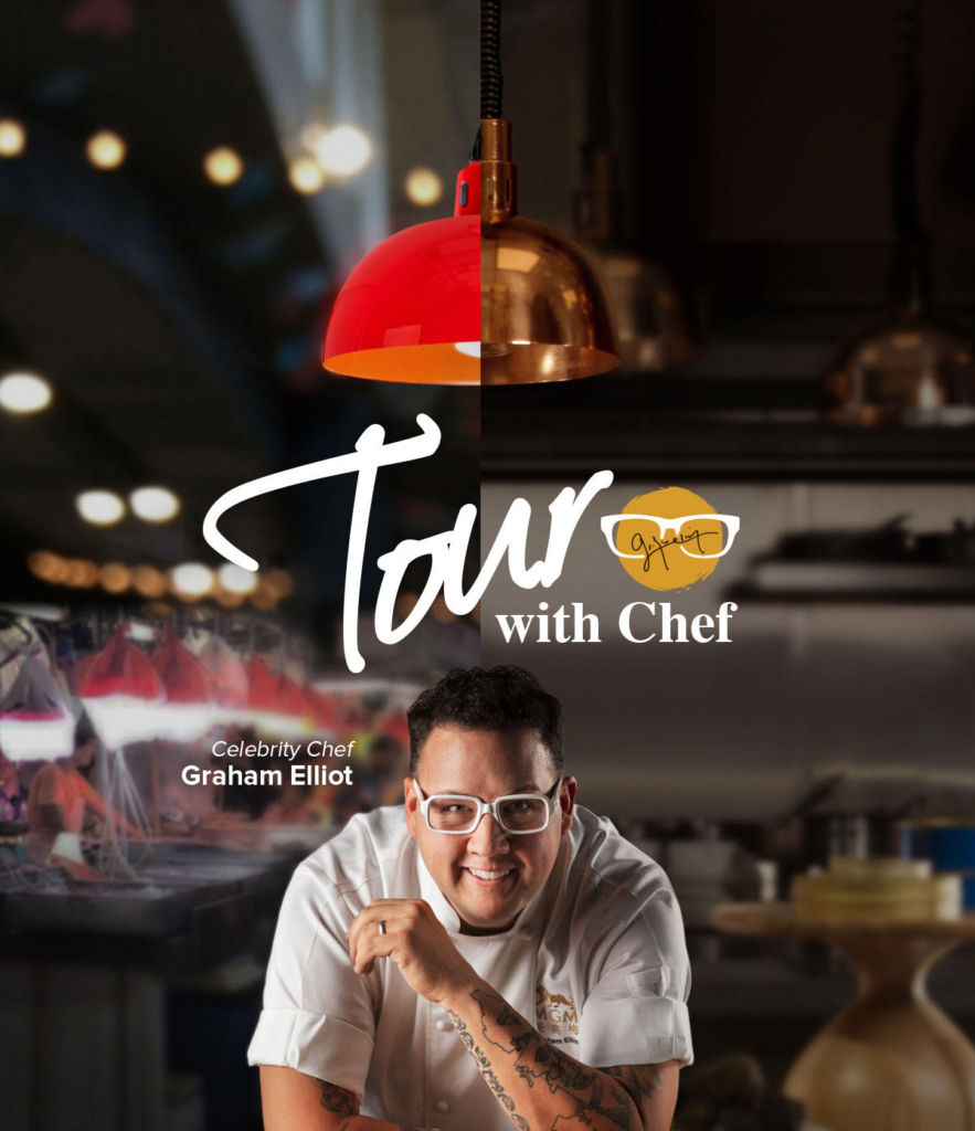 Chef Graham Elliot Tour Poster With Title Macau Lifestyle