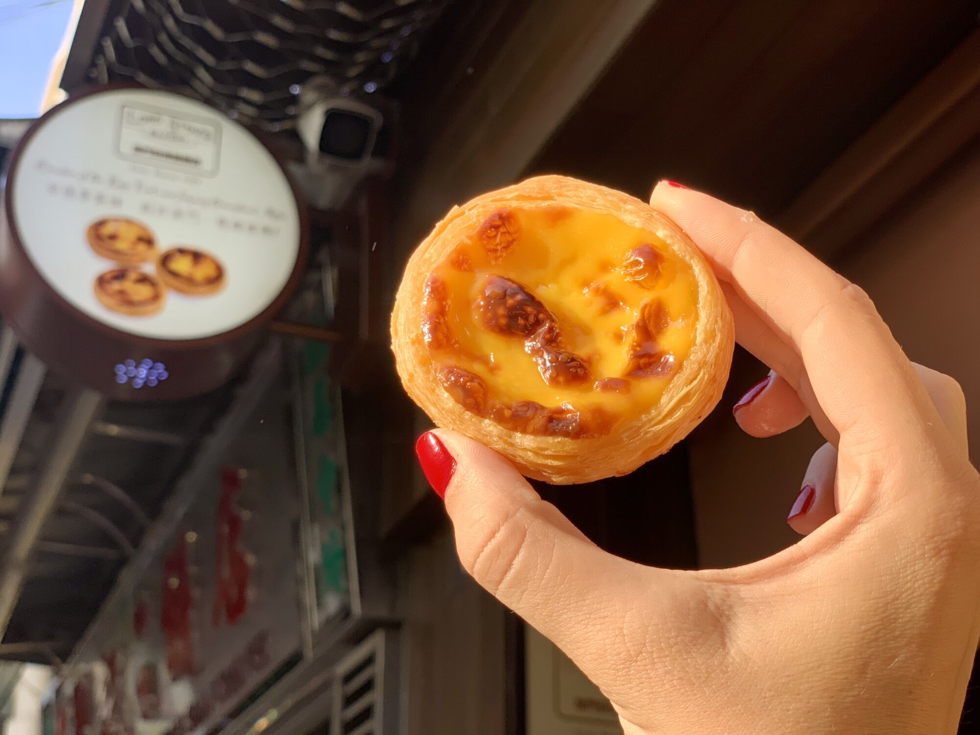 Egg Tart from Lord Stows