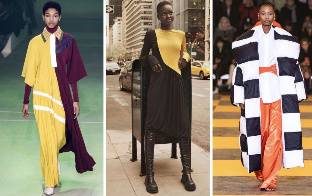 color block fashion trend fall/winter 2019