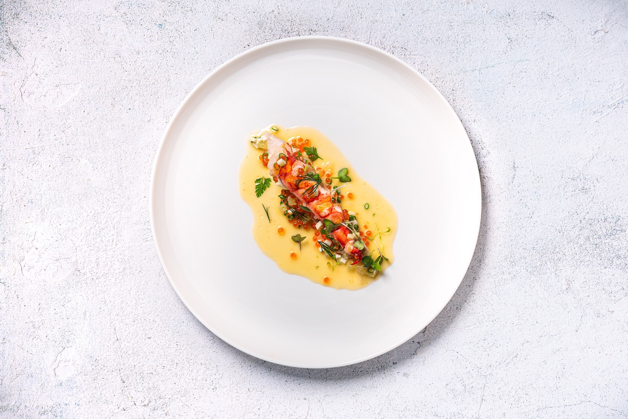 MGM Cotai Grill 58 Chef Mauro Colagreco Char-grilled Carabineros