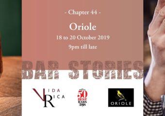 Macau Lifestyle Mandarin Oriental Bar Stories Chapter 44 Oriole Bar event poster
