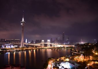 Macau Tower At Night Is Macau A Country