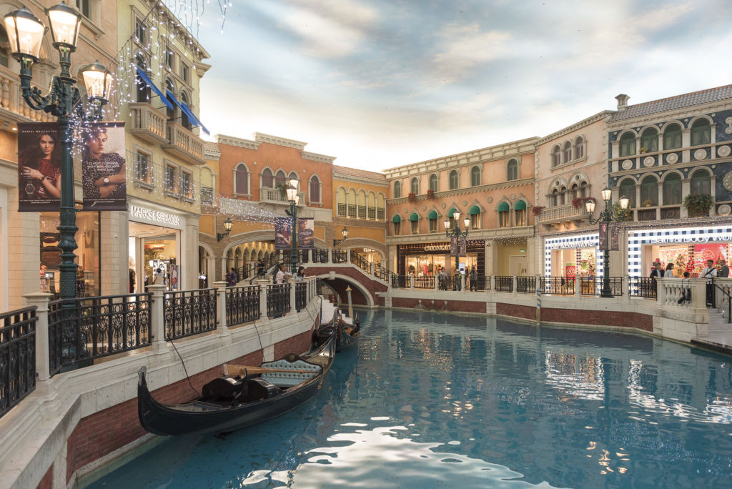 The Venetian Macao canals
