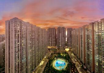 Nova Park Sunset from the 28th Floor Macau Lifestyle