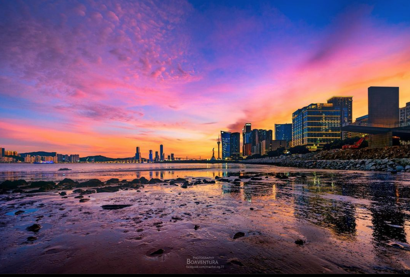 Photography Boaventura Macao Science Center Sunset