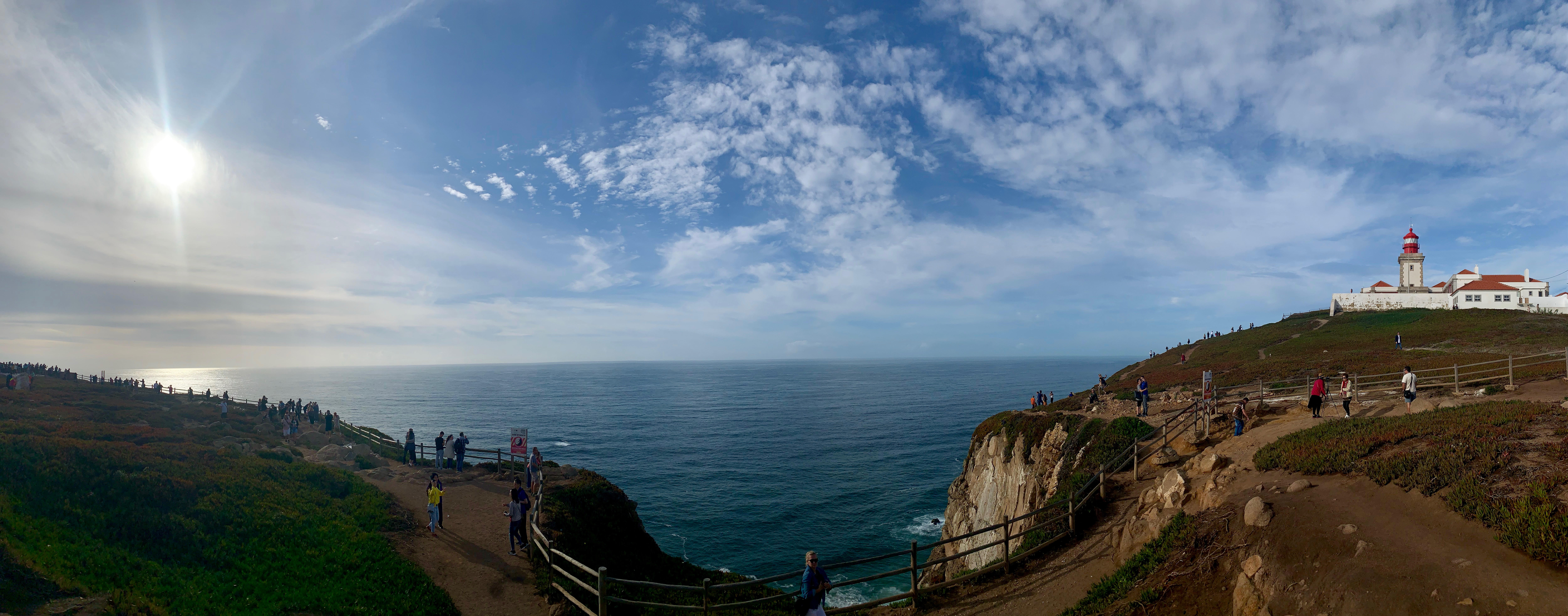 cabo da roca panoramic view