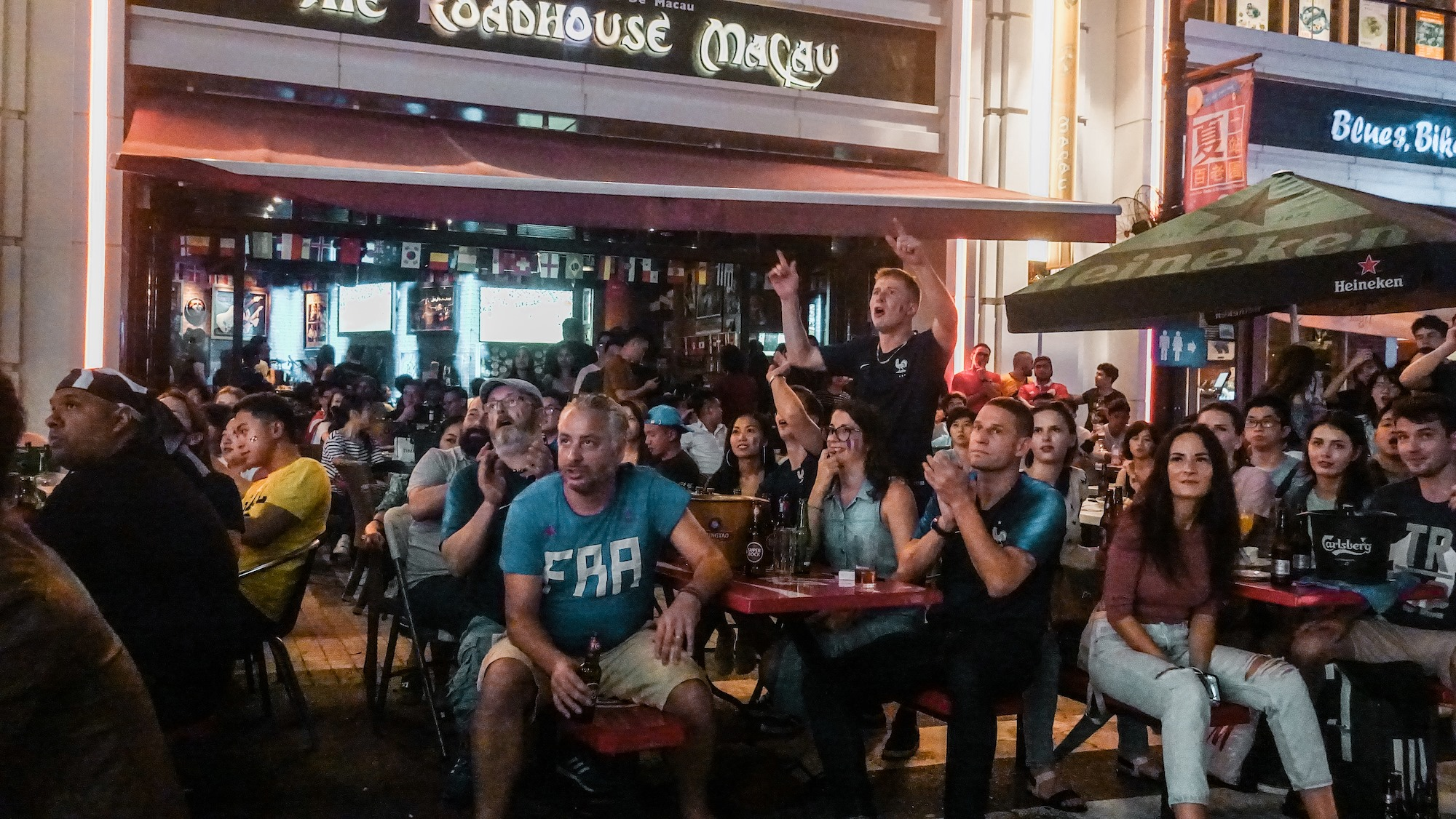 the rugby world cup 2019 at the roadhouse