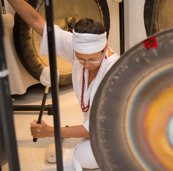 Gong Meditation at The Oriental Spa 3