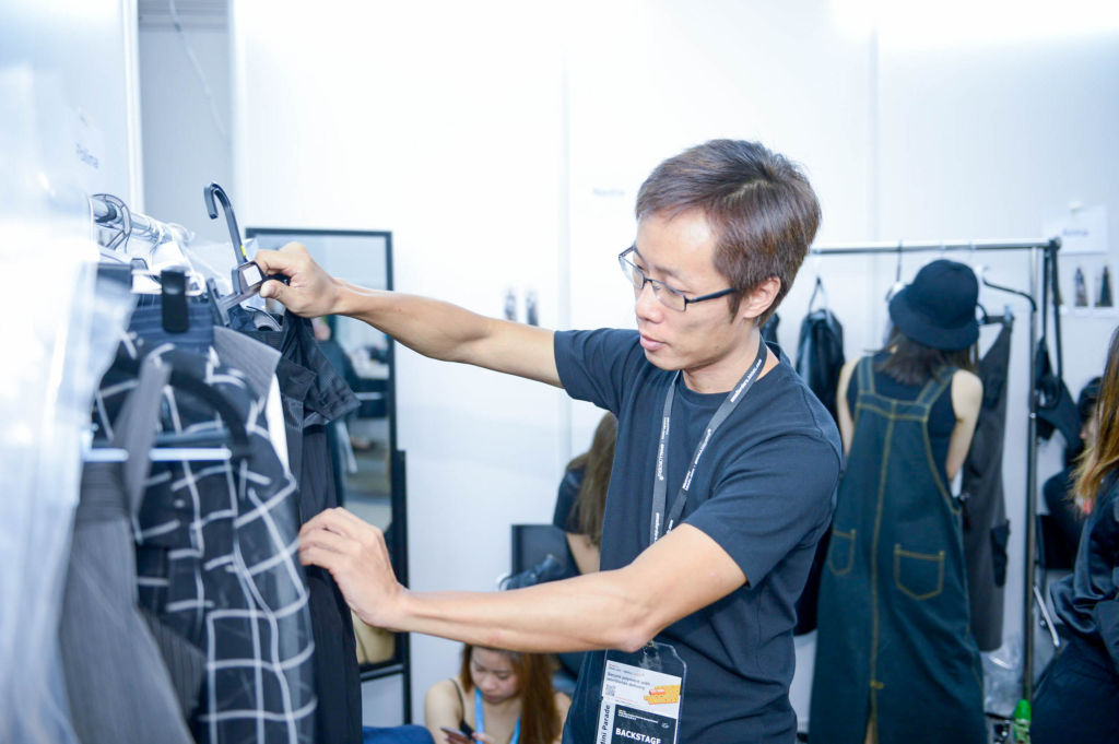 Jack Lam_fashion designer_backstage