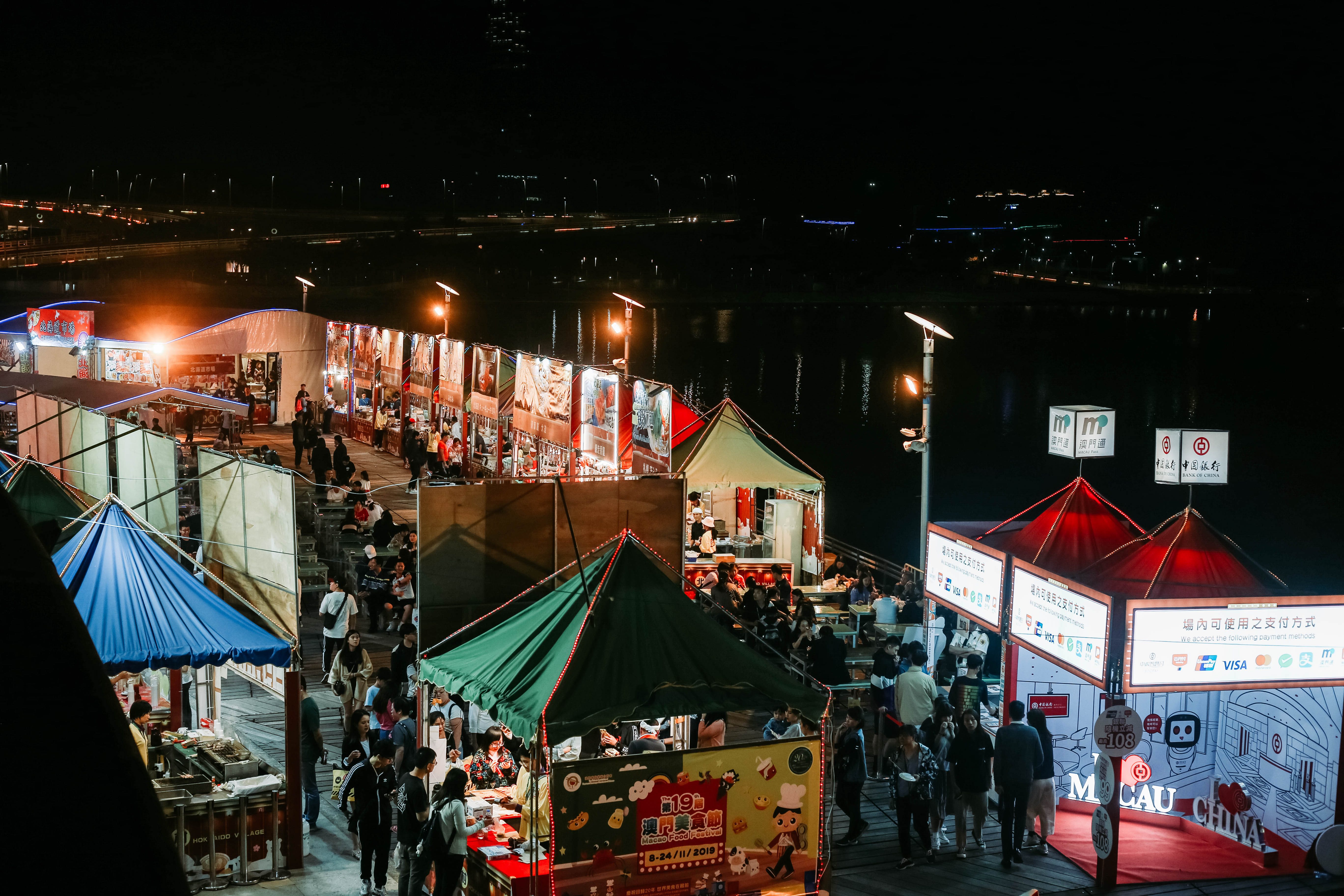 Macau Food Festival 2019 Exterior View from Above
