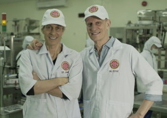 Mount Mayon Premium Pili Nuts founders Dr James Costello and Dr Steve Costello