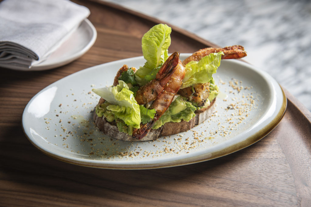 Rosewood Hong Kong _Asaya Kitchen_Grilled Prawn Tartine_3