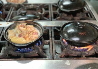 S Domingos Market Food Hall Clay Pot Rice