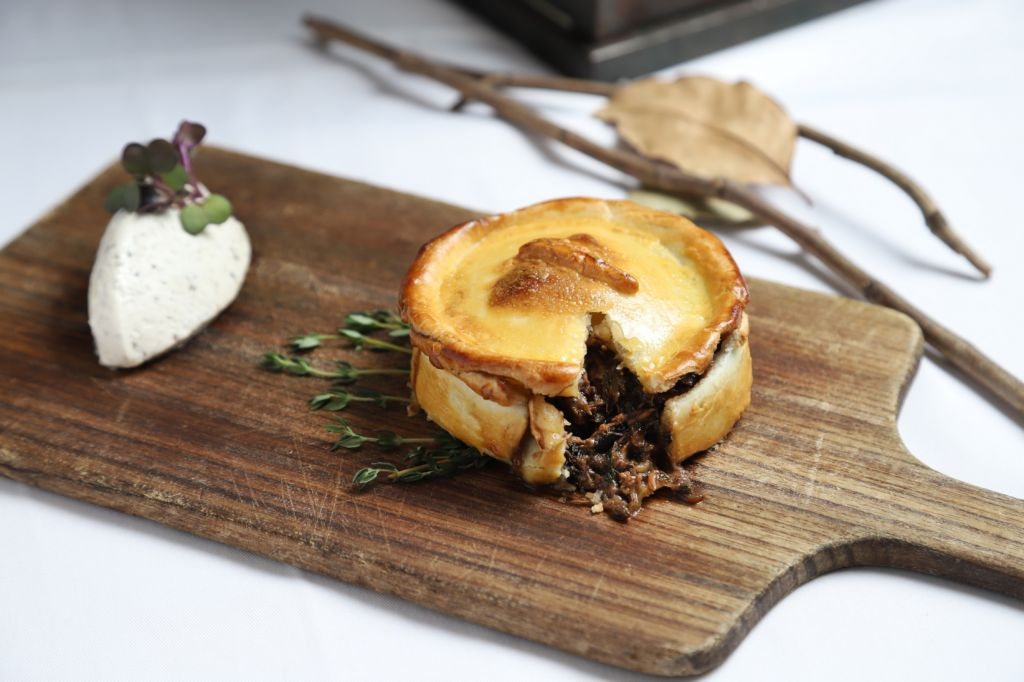 Casa Lisboa Partridge Pie with wild mushrooms