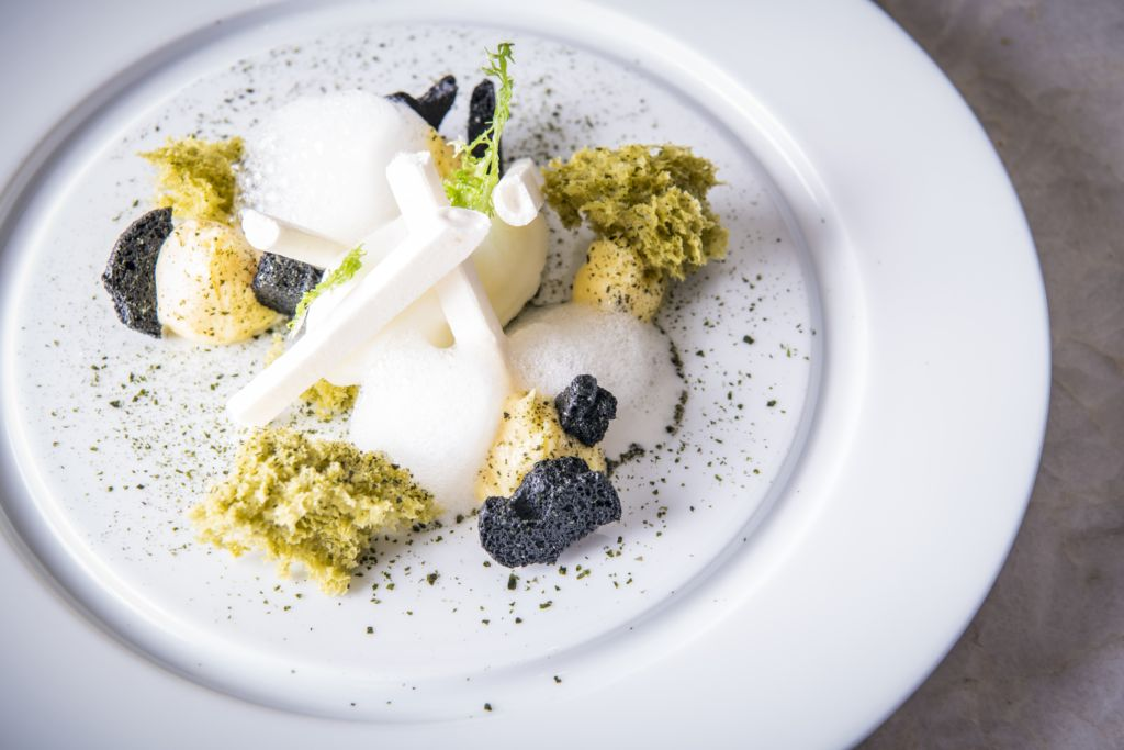 Chiado December Promo Ocean flavours and citrus, yuzu sorbet, crystallised algae