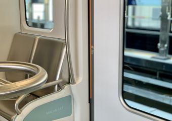 Macau LRT Interior Seats Detail Macau Lifestyle