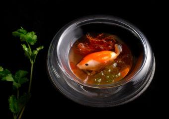 Macau Sole Dumpling with Bouillabaisse Consommé_01