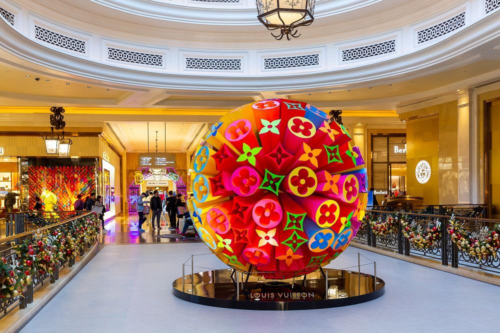 Sands Shoppes Macao LV Christmas Decoration