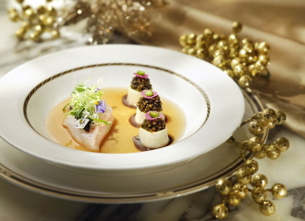 The Ritz-Carlton Cafe – Slow Poached Dover Sole
