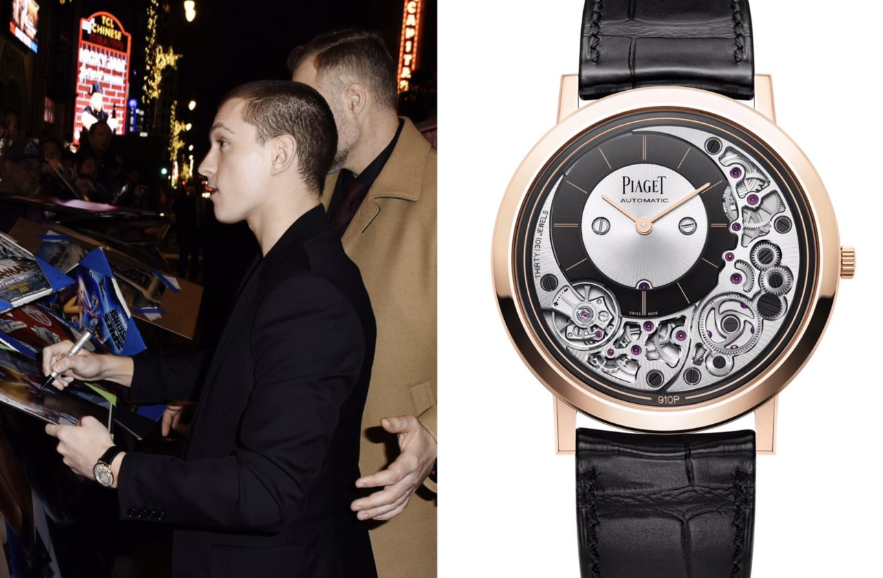 Tom Holland – Piaget celebrities watches