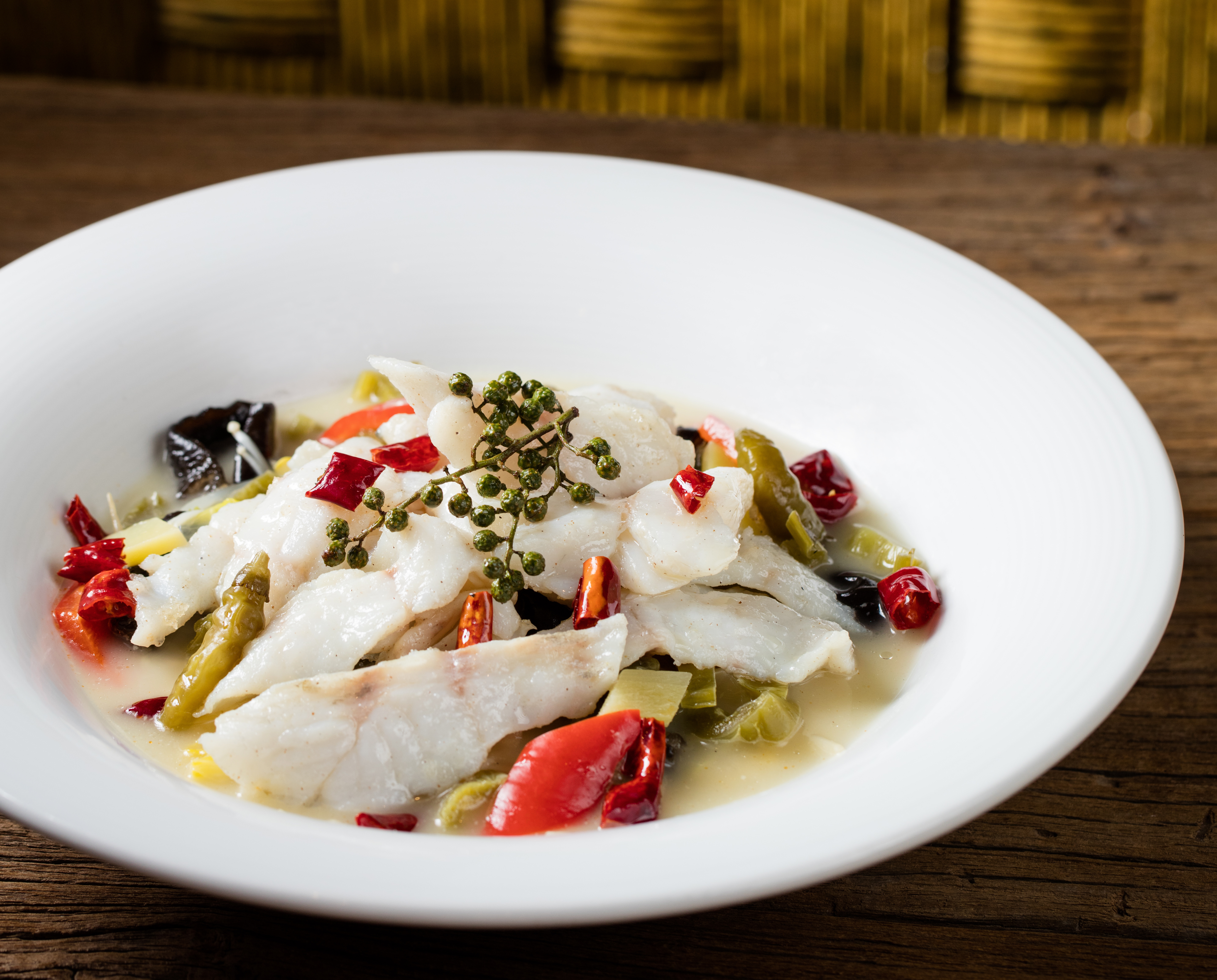 Yum Cha_Winter Specials_Mandarin fish with preserved sour vegetables
