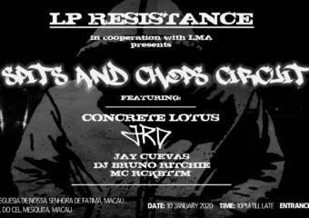 LP Resistance Live Music Association Macau Banner