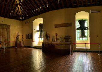 Old Bells at Sacred Treasure in St Joseph Seminary Indoor Upper Floor Macau Lifestyle