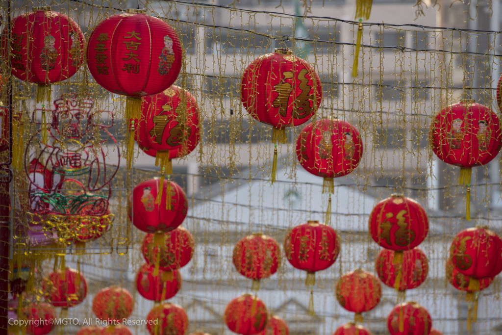 Red Chinese New Year Balloons Macao Tourism Credit
