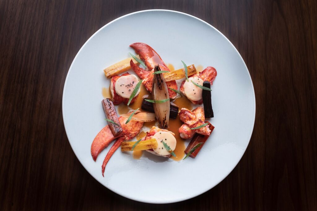 SOMM – Valentine's Day – Boston Lobster a L'americaine with Veal Bone Marrow & Winter Roots