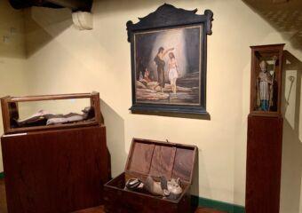 Sacred Treasure at St Joseph Seminary Macau Indoor First Floor Jesus Figures