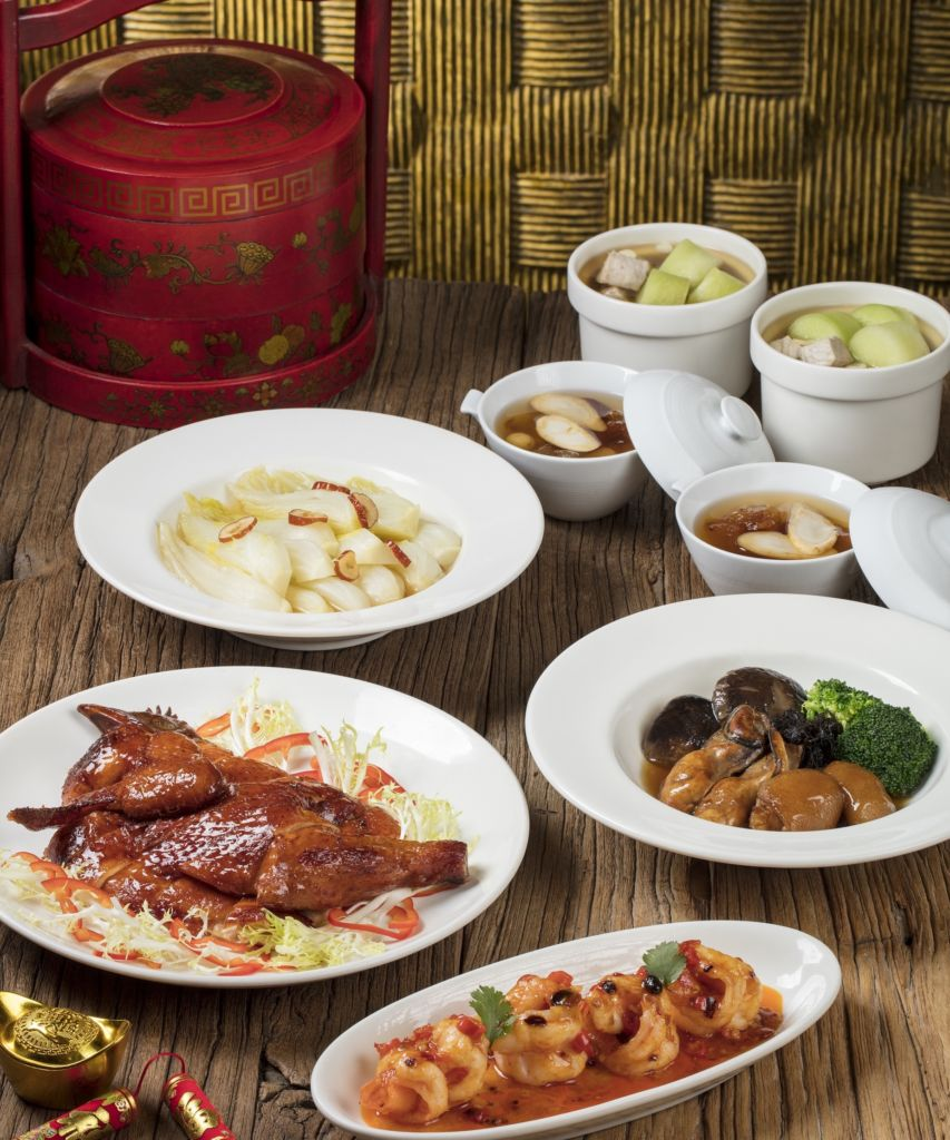 Sheraton Grand Macao New Year Season set menu