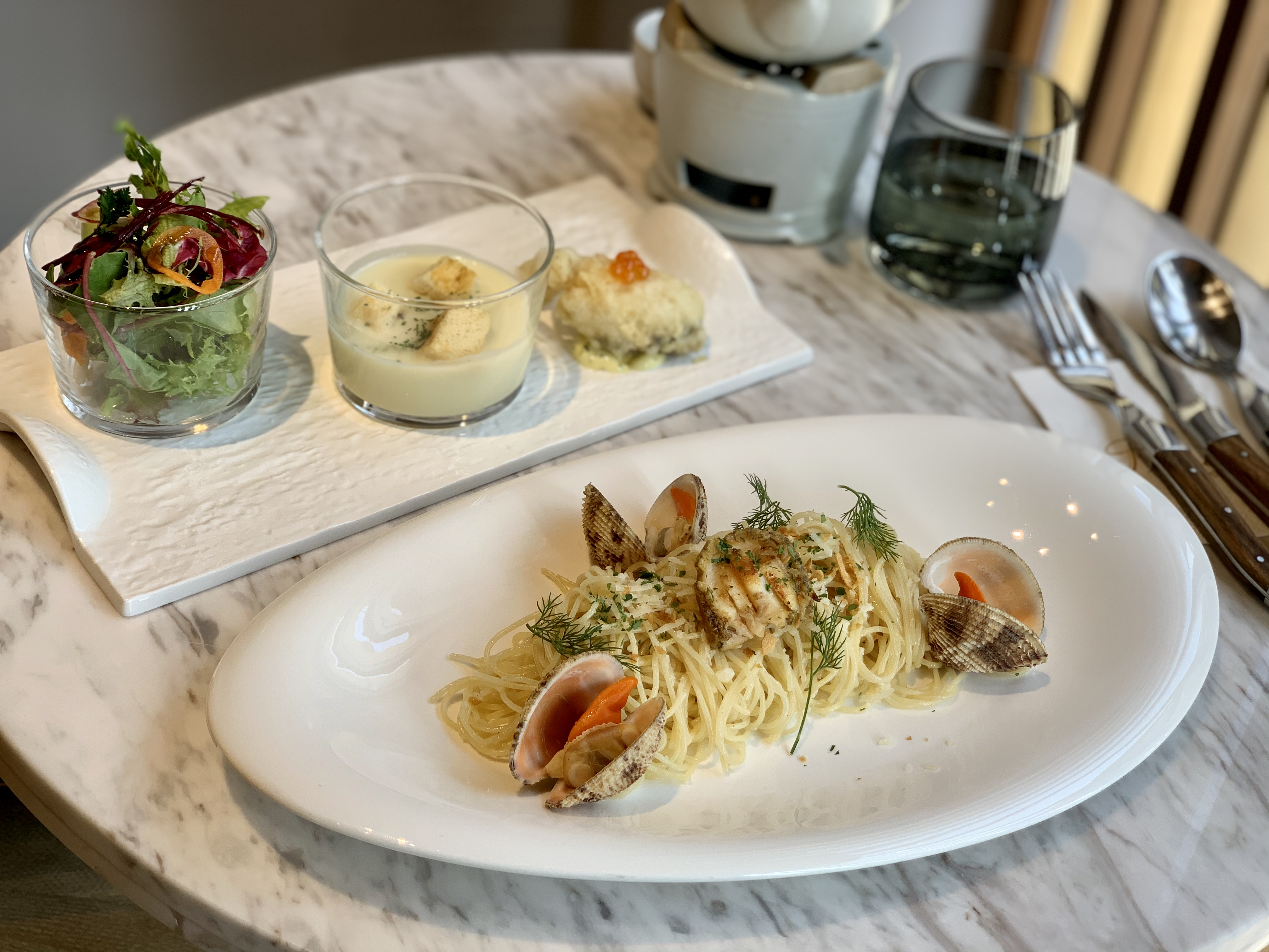 Spaguetti Set Lunch Menu at Padre Restaurant Macau Lifestyle Indoors
