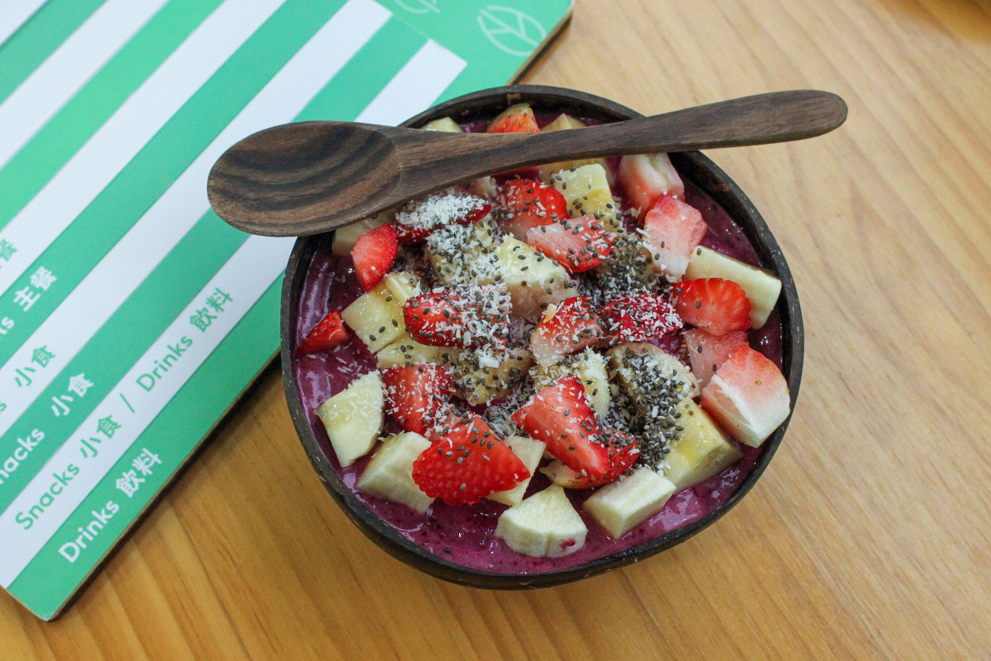 healthy habbits superfood cafe smoothie bowl