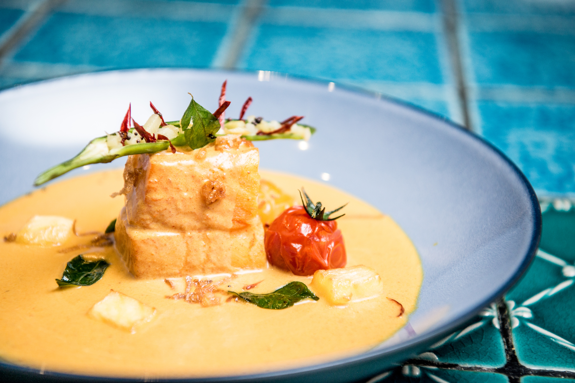 the golden peacock the venetian macao sands dining macau lifestyle Quilon Fish Curry 香芒咖哩鱈魚