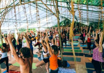 Bali Yoga Festival 2020 People doing Yoga