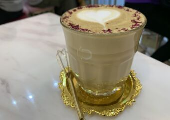 Cafe 1231 Interior Rose Latte Shot Macau Lifestyle