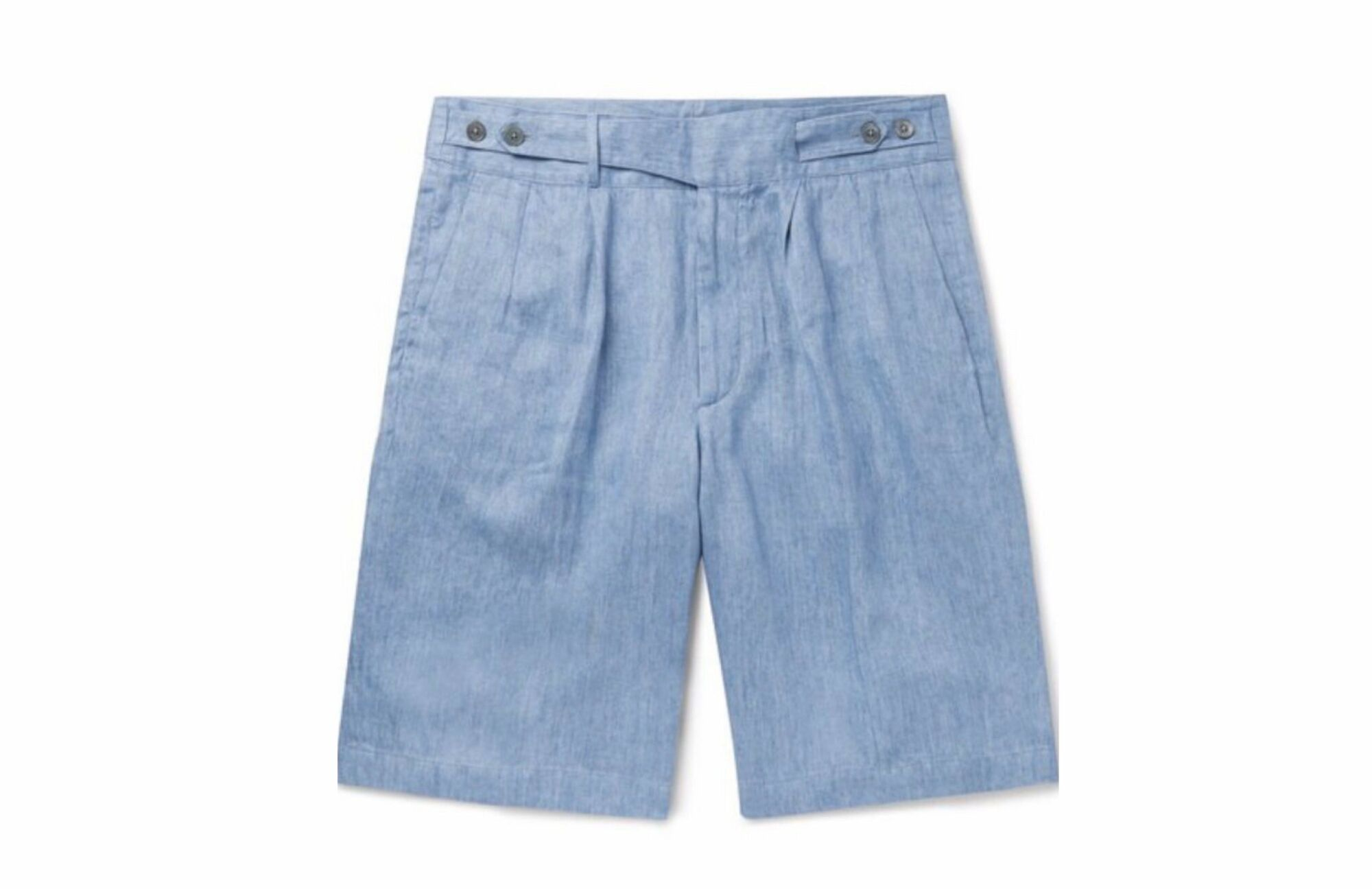 Ermenegildo Zegna blue Denim Shorts