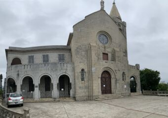 Penha Hill Church Exterior Shot Outside Macau Lifestyle