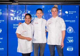 San Pellegrino Inspirational Women of the Era Summit Chef Chef Margarita Fores Chef May Chow Chef Ana Ros
