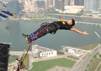 AJ Hackett Macau Tower bungee jump