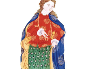 Featured image: Chinese depiction of a woman from atlantic countries circa 18th century Source: Review of Culture
