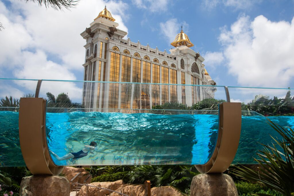 Galaxy Macau's Grand Resort Deck