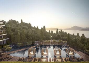 Janu Montenegro Pool with Cabanas