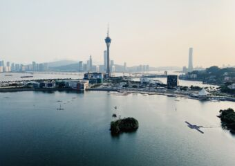 Macau Nam Van Lake view