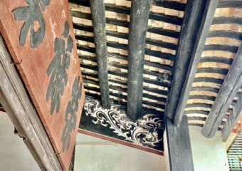 Mandarins House ceiling detail