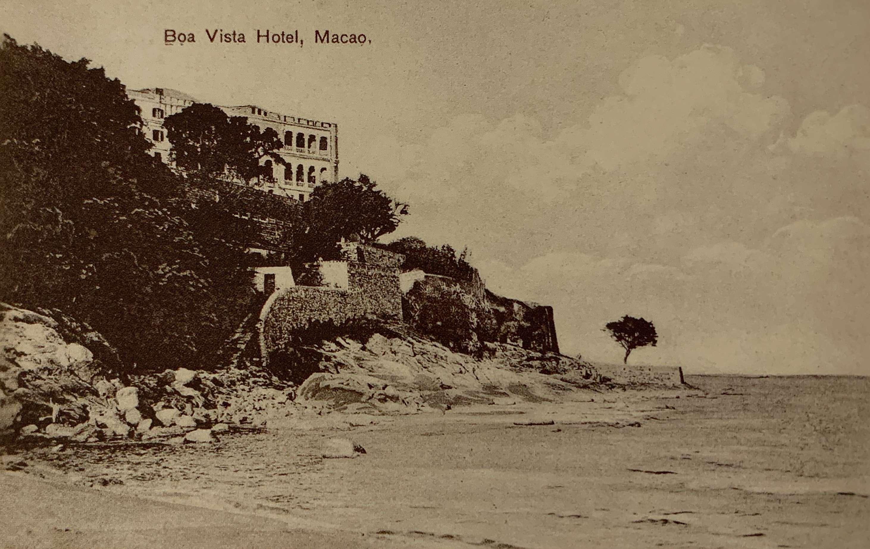 Old Postcard circa 1900 from Macau Antique Postcards by Joao Loureiro