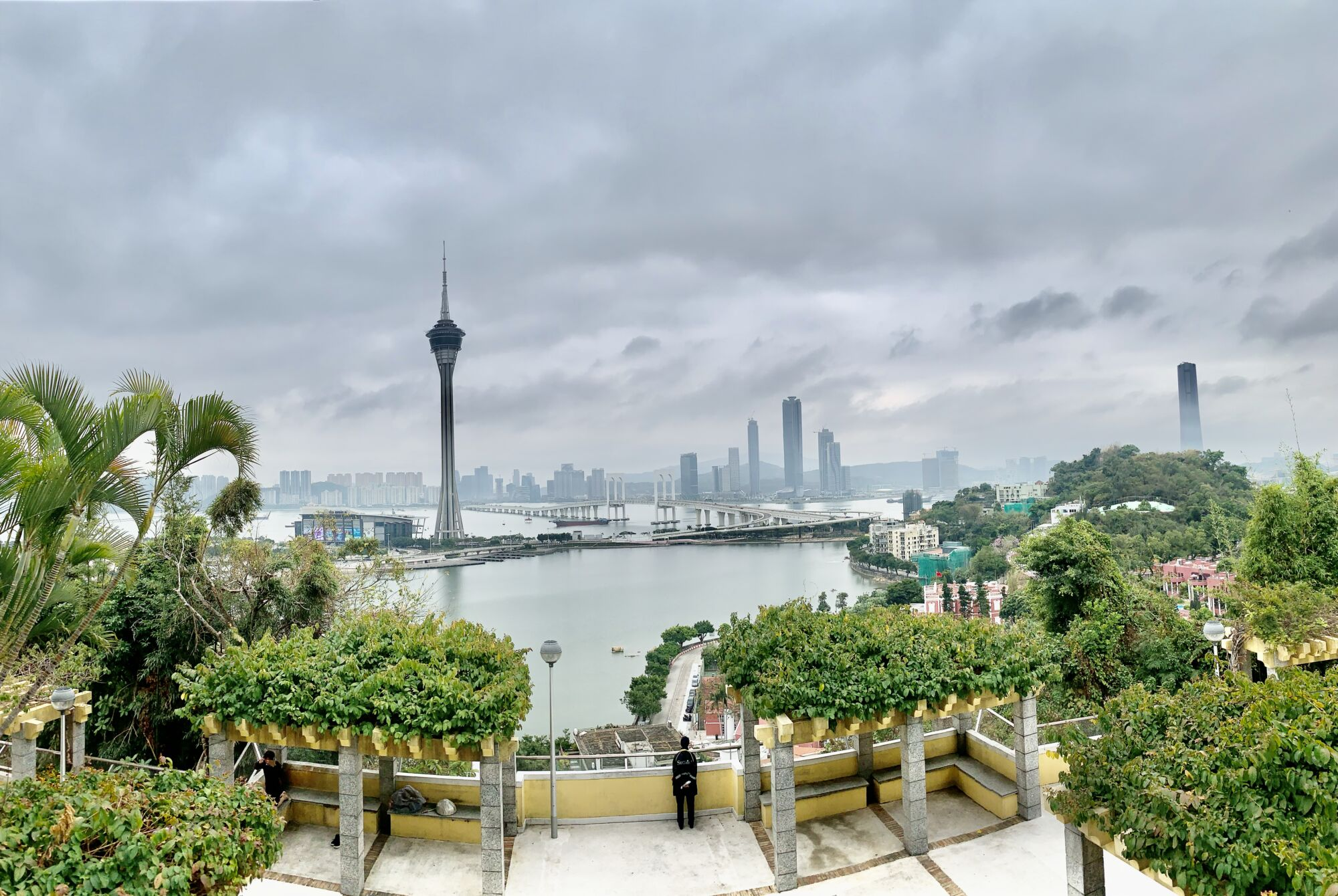 Penha Hill Fish Eye View from the Top Macau Lifestyle