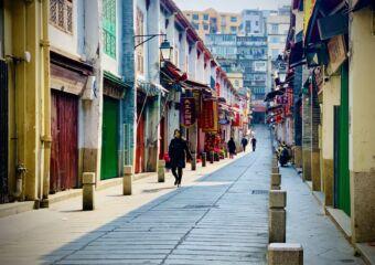 Rua da Felicidade Nowadays 2020 Horizontal Macau Lifestyle