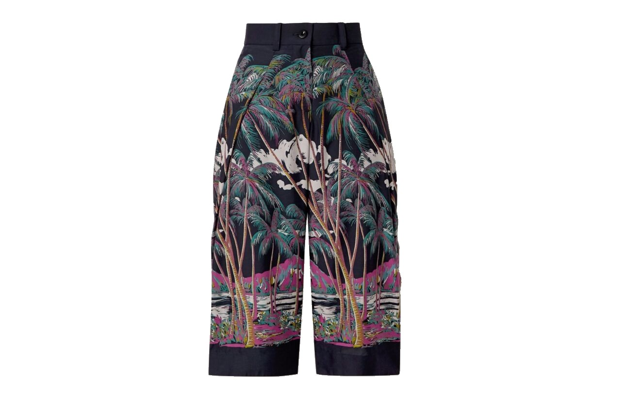 Sacai print trousers shopping Morpheus